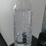 ペットボトルで作る水式空気清浄機 化学物質過敏症(CS)発症後、ホテル泊の必需品